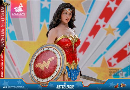 Hot Toys推出《正义联盟》神奇女侠(漫画概念版) 1:6比例珍藏人偶 模玩 第9张