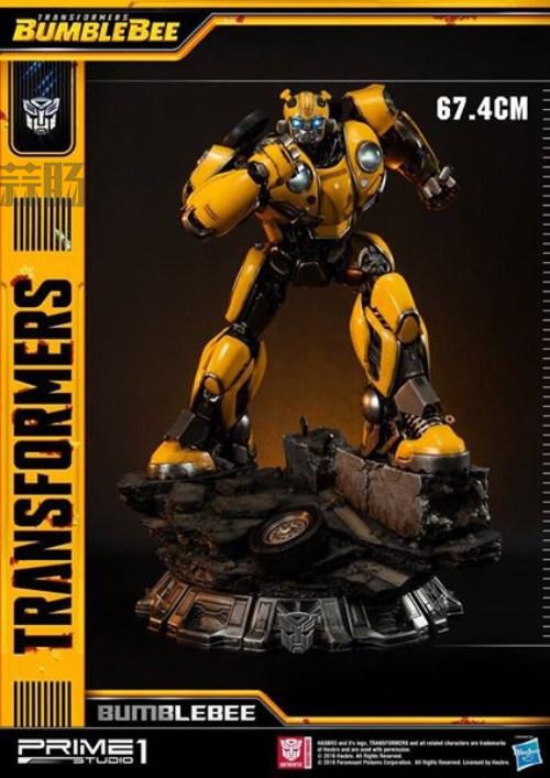 Prime 1 Studios 发布《大黄蜂》电影雕像官图 变形金刚 第2张