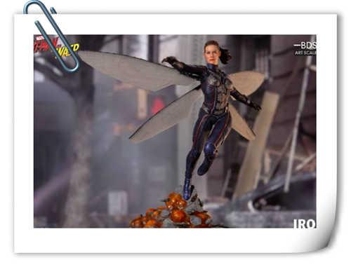 Iron Studios 发布预定蚁人和黄蜂女1:10 雕像
