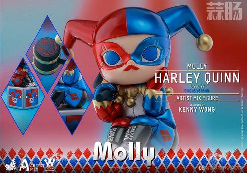 HotToys跟Kennyswork再次联动?Molly版伪装小丑女竟如此可爱 kenny Kennyswork 小丑女 茉莉 Molly Hottoys HT 模玩  第6张
