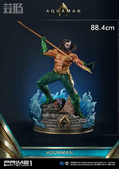P1S 推出 1/3海王雕像 网友:徐锦江本人了 模玩 第4张