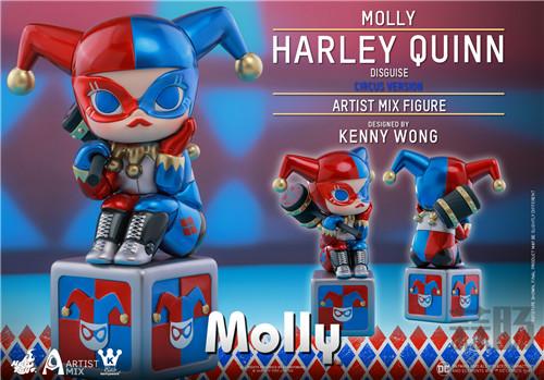 Hot Toys与Kennyswork联动推出Molly(伪小丑女)马戏团版 模玩 第5张