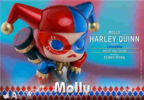Hot Toys与Kennyswork联动推出Molly(伪小丑女)马戏团版