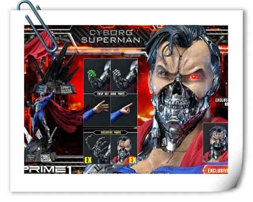 这款超人手办厉害了 普通版也要8000元?
