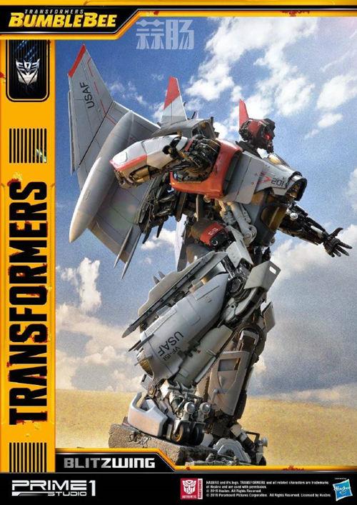 Prime 1 Studio 公布电影《大黄蜂》闪电雕像官图 变形金刚 第4张