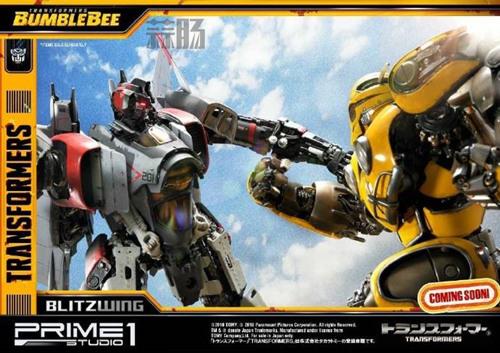 Prime 1 Studio 公布电影《大黄蜂》闪电雕像官图 变形金刚 第9张