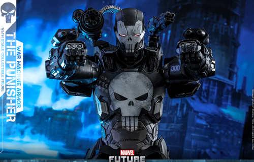 Hot Toys首度推出《漫威:未来之战》系列 惩罚者 (战争机器装甲) 1:6比例合金珍藏人偶