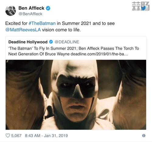 《蝙蝠侠》独立电影定档 本阿弗莱克确认退出 动漫 第1张