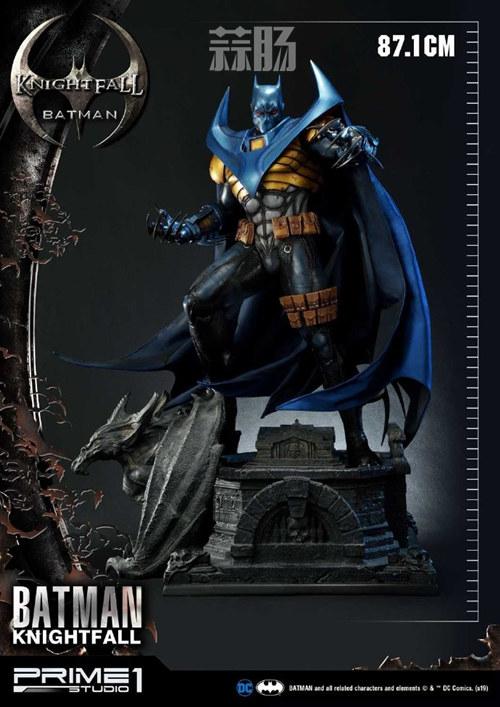 P1S 发布 DC漫画版骑士陨落版蝙蝠侠雕像  将近8000元 模玩 第1张