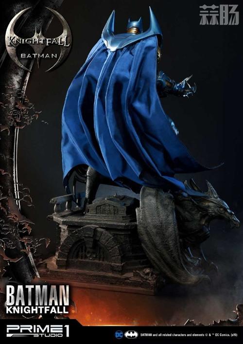 P1S 发布 DC漫画版骑士陨落版蝙蝠侠雕像  将近8000元 模玩 第5张