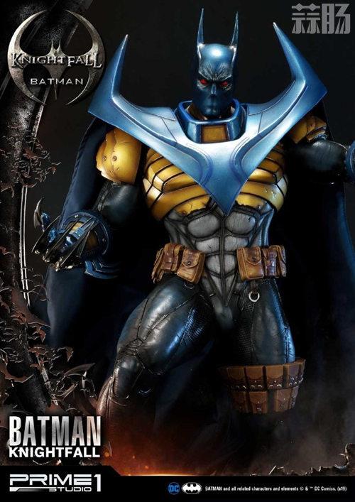 P1S 发布 DC漫画版骑士陨落版蝙蝠侠雕像  将近8000元 模玩 第7张
