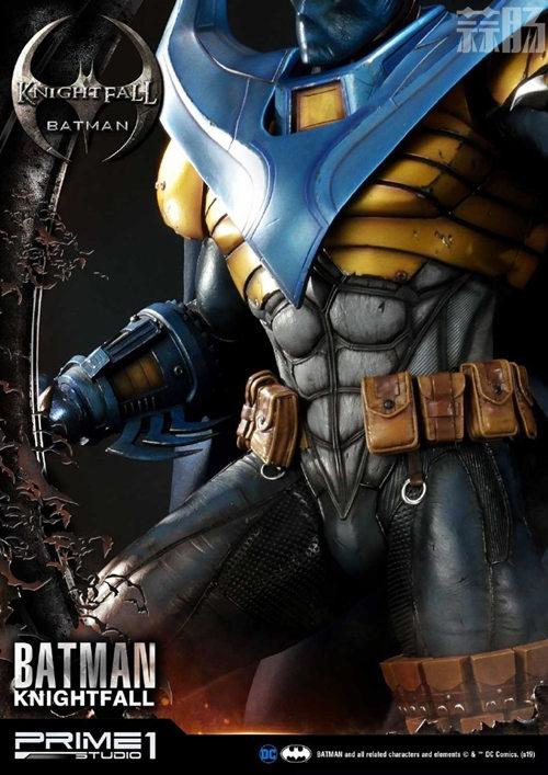 P1S 发布 DC漫画版骑士陨落版蝙蝠侠雕像  将近8000元 模玩 第9张