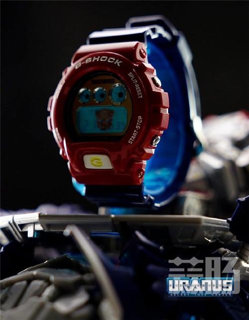 卡西欧G Shock联动变形金刚DW 6900FS手表细节图公布 G Shock 擎天柱 变形金刚 变形金刚  第5张