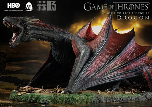 threezero公布《权力的游戏》飞龙官图 权利的游戏 飞龙 threezero 模玩  第2张