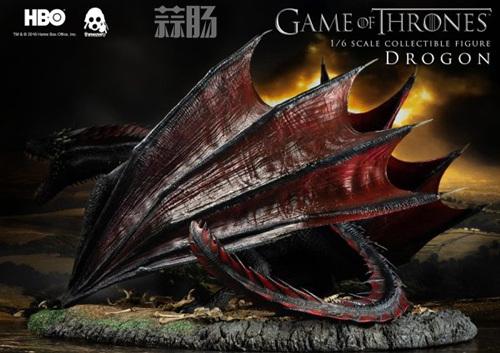 threezero公布《权力的游戏》飞龙官图 权利的游戏 飞龙 threezero 模玩  第4张