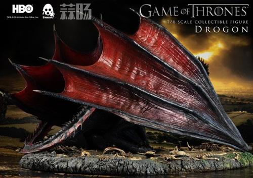 threezero公布《权力的游戏》飞龙官图 权利的游戏 飞龙 threezero 模玩  第6张