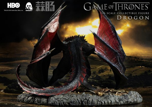 threezero公布《权力的游戏》飞龙官图 权利的游戏 飞龙 threezero 模玩  第5张
