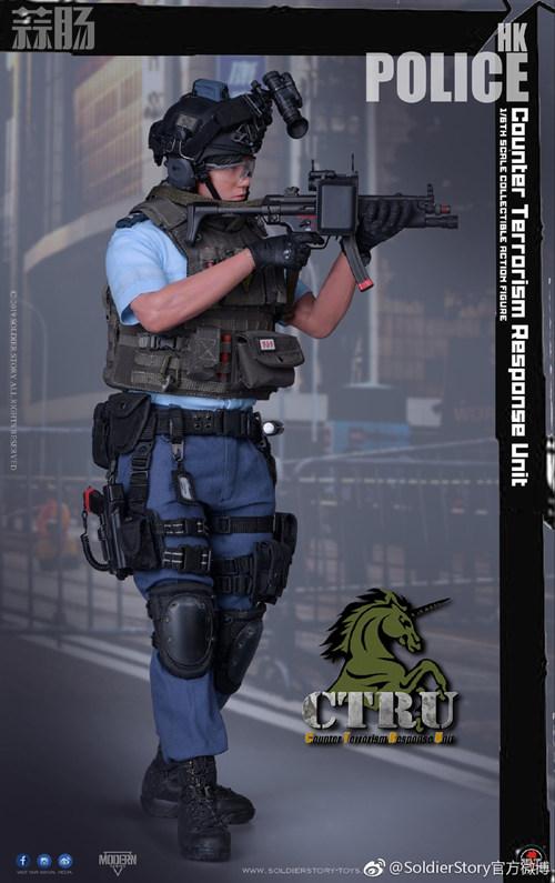 SoldierStory公布1/6 香港警察 反恐特勤队小明 SoldierStory 香港警察 SS 模玩  第1张