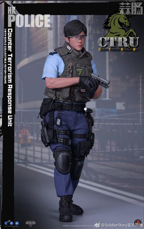 SoldierStory公布1/6 香港警察 反恐特勤队小明 SoldierStory 香港警察 SS 模玩  第6张