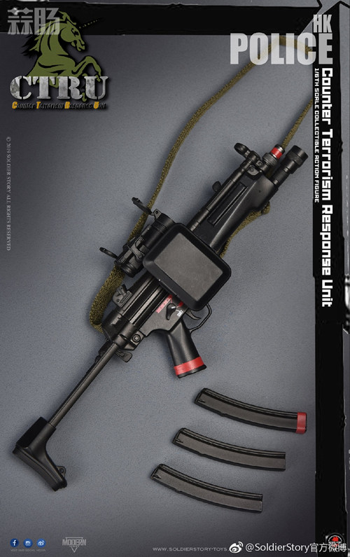 SoldierStory公布1/6 香港警察 反恐特勤队小明 SoldierStory 香港警察 SS 模玩  第9张