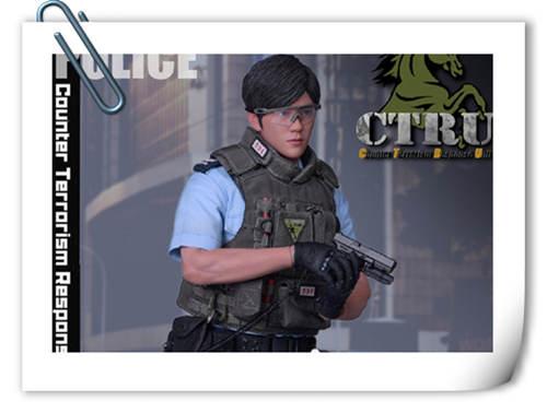 SoldierStory公布1/6 香港警察 反恐特勤队小明