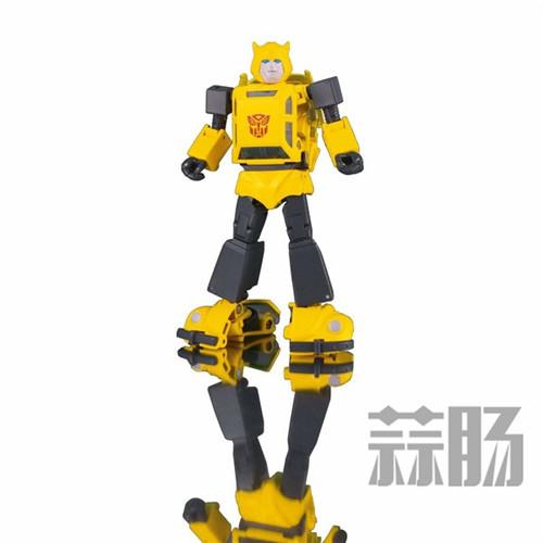 日亚公开变形金刚MP-45大黄蜂大量细节图 变形金刚 第3张