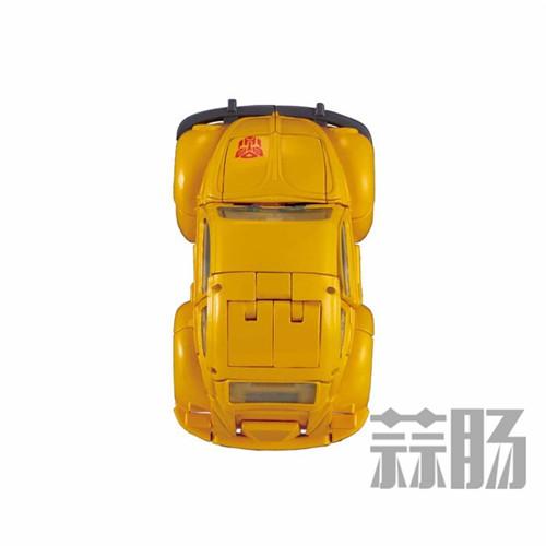 日亚公开变形金刚MP-45大黄蜂大量细节图 变形金刚 第10张