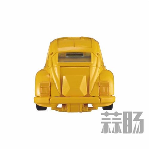 日亚公开变形金刚MP-45大黄蜂大量细节图 变形金刚 第9张