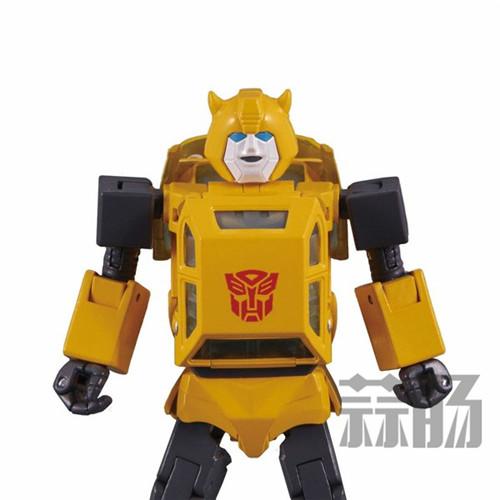 日亚公开变形金刚MP-45大黄蜂大量细节图 变形金刚 第12张