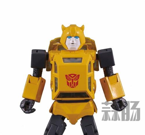 日亚公开变形金刚MP-45大黄蜂大量细节图 变形金刚 第13张