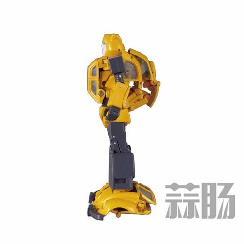 日亚公开变形金刚MP-45大黄蜂大量细节图 变形金刚 第17张