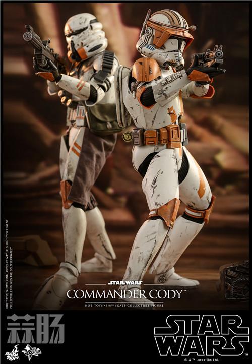 Hot Toys推出《星球大战前传3西斯的复仇》指挥官科迪1:6人偶 模玩 第2张