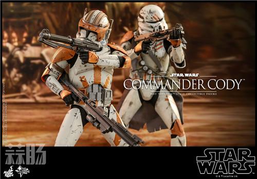 Hot Toys推出《星球大战前传3西斯的复仇》指挥官科迪1:6人偶 模玩 第4张