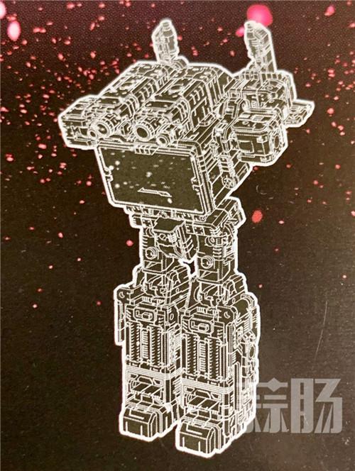 变形金刚SG-24声波封面荧光密码公开 变形金刚 第3张