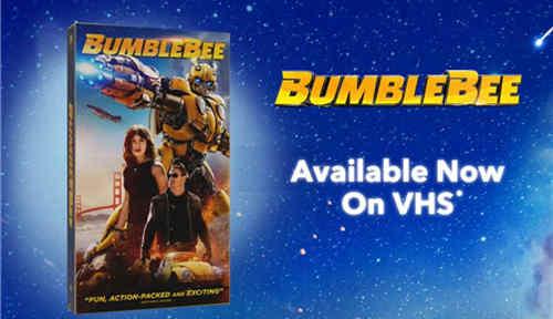 变形金刚电影《大黄蜂》推出80年代录影带限定版