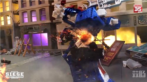 台湾孩之宝公开《变形金刚》赛博坦之战围城系列定格动画 变形金刚 第6张