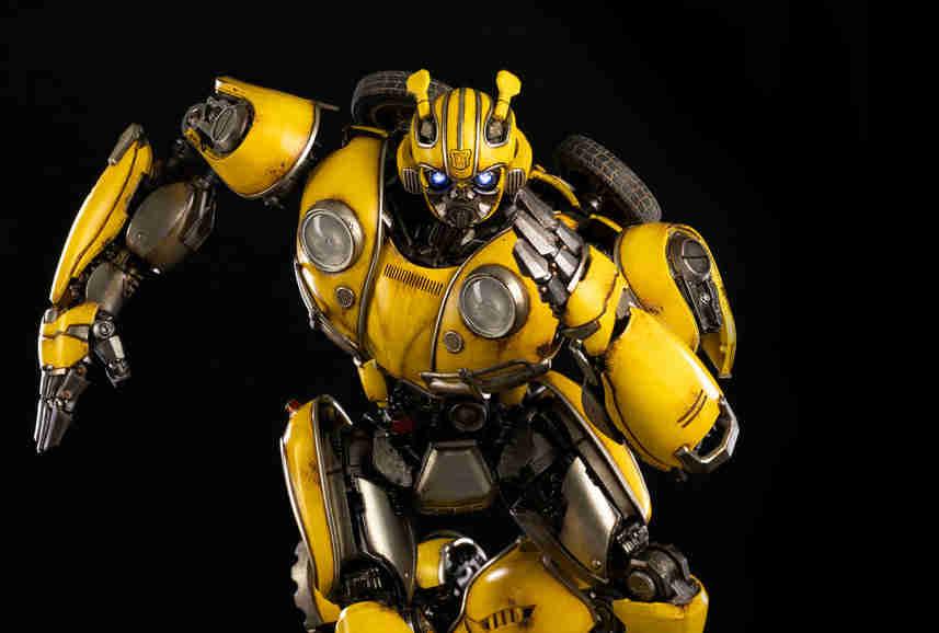 3A公开《变形金刚大黄蜂》14英寸大黄蜂可动模型