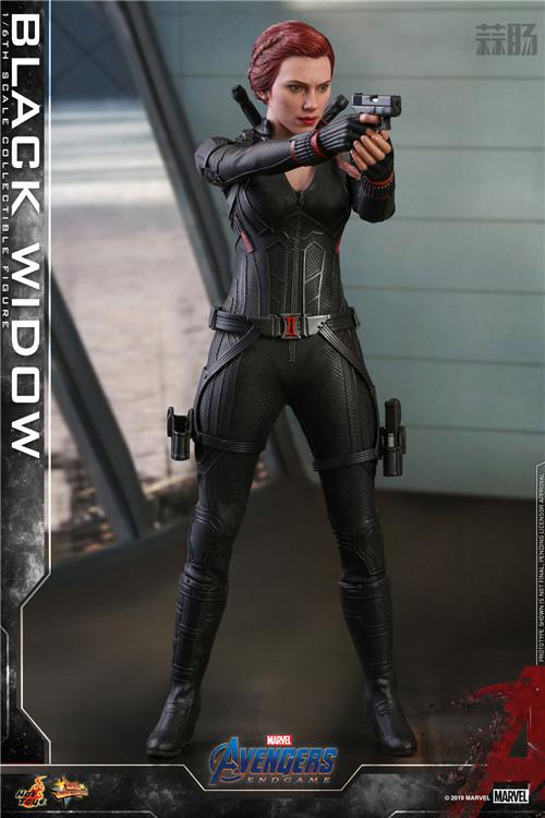 Hot Toys《复仇者联盟4》美国队长及黑寡妇1:6比例珍藏人偶 模玩 第5张