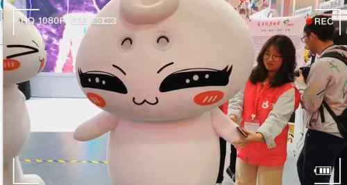 第十五届中国国际动漫节上的小朋友们?