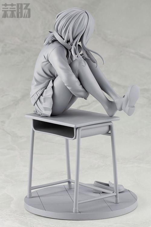 寿屋《五等分的花嫁》中野三玖手办的未上色原型公开 模玩 第3张