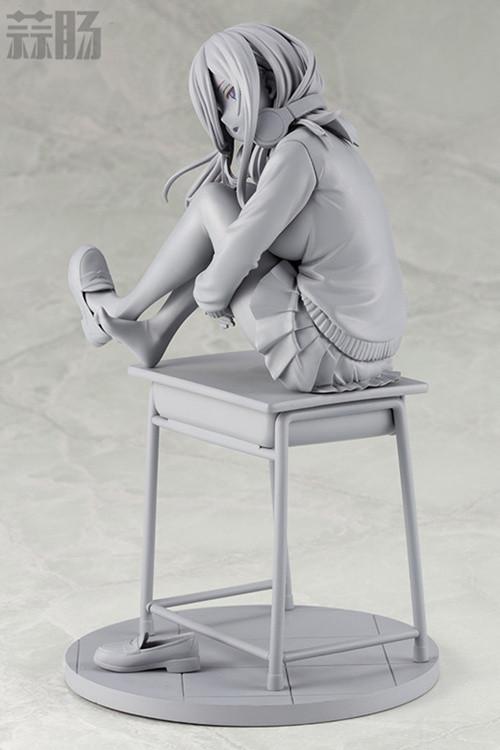 寿屋《五等分的花嫁》中野三玖手办的未上色原型公开 模玩 第8张