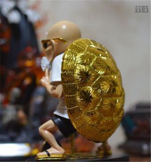 《龙珠》富贵龟仙人手办 身穿潮牌比剪刀手帅爆了 模玩 第3张