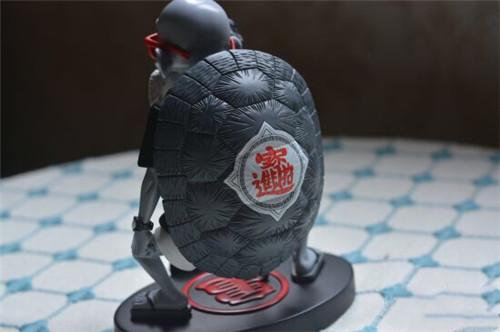 《龙珠》富贵龟仙人手办 身穿潮牌比剪刀手帅爆了 模玩 第6张