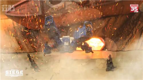 台湾孩之宝公开《变形金刚》围城系列定格动画第4集威震天VS擎天柱 变形金刚 第8张