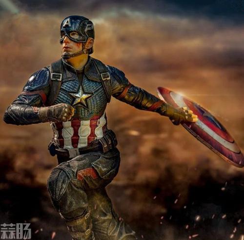 Iron Studios《复仇者联盟4:终局之战》美国队长1/10雕像 模玩 第3张