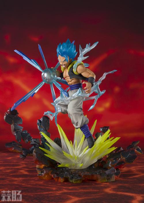 《龙珠超》限定版超级赛亚人之神-悟吉塔手办公布 模玩 第1张