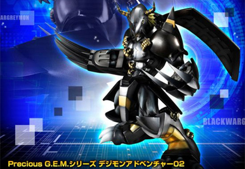 《数码宝贝》黑暗战斗暴龙兽模型公布