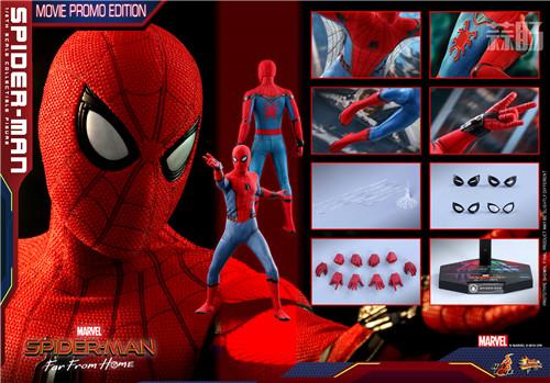 蜘蛛侠(电影期间限定)1:6比例珍藏人偶内地限量发售 模玩 第9张