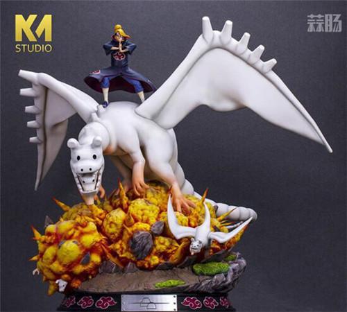 """《火影忍者》迪达拉雕像 操纵粘土巨龙展现""""艺术"""" 模玩 第6张"""