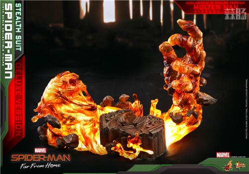 Hot Toys推出《蜘蛛侠: 英雄远征》蜘蛛侠1:6比例珍藏人偶 模玩 第6张